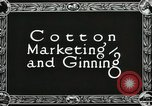 Image of Cotton ginning New Orleans Louisiana USA, 1919, second 5 stock footage video 65675022211