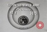 Image of Rifle squad in Defense Part II United States USA, 1965, second 8 stock footage video 65675022238