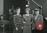 Image of Andrews sisters United States USA, 1944, second 10 stock footage video 65675022241