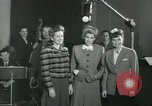 Image of Andrews sisters United States USA, 1944, second 12 stock footage video 65675022241