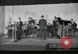 Image of Perry Como and orchestra broadcast song Now New York United States USA, 1943, second 5 stock footage video 65675022249