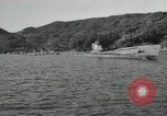 Image of Japanese submarines scheduled for destruction Sasebo Bay Japan, 1946, second 5 stock footage video 65675022265