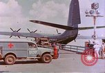 Image of US Aircraft JRM-1 removing casualties and taking off Pearl Harbor Hawaii USA, 1946, second 10 stock footage video 65675022271