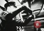 Image of Officers inside Japanese two-man midget submarine Pacific Theater, 1941, second 7 stock footage video 65675022276