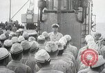 Image of Japanese submarine departs for a mission Indian Ocean, 1942, second 1 stock footage video 65675022287