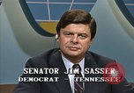 Image of Senator Jim Sasser and Arnold L Raphel Washington DC USA, 1985, second 12 stock footage video 65675022336