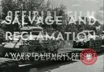 Image of Salvage and Reclamation Europe, 1947, second 10 stock footage video 65675022352