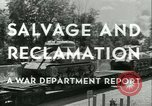 Image of Salvage and Reclamation Europe, 1947, second 11 stock footage video 65675022352