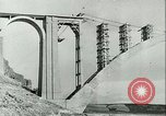 Image of Bridge under construction Spain, 1942, second 3 stock footage video 65675022359