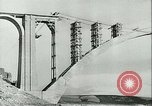 Image of Bridge under construction Spain, 1942, second 4 stock footage video 65675022359
