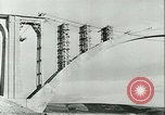 Image of Bridge under construction Spain, 1942, second 5 stock footage video 65675022359