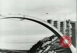 Image of Bridge under construction Spain, 1942, second 12 stock footage video 65675022359