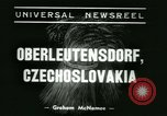 Image of Nazi dignitary at harvest festival Oberleutensdorf Czechoslovakia, 1938, second 4 stock footage video 65675022388