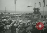 Image of Nazi dignitary at harvest festival Oberleutensdorf Czechoslovakia, 1938, second 5 stock footage video 65675022388