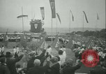 Image of Nazi dignitary at harvest festival Oberleutensdorf Czechoslovakia, 1938, second 8 stock footage video 65675022388