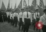 Image of Nazi dignitary at harvest festival Oberleutensdorf Czechoslovakia, 1938, second 9 stock footage video 65675022388