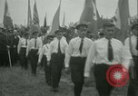 Image of Nazi dignitary at harvest festival Oberleutensdorf Czechoslovakia, 1938, second 10 stock footage video 65675022388