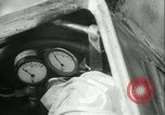Image of Byron Connett in small submarine Michigan City Indiana USA, 1938, second 10 stock footage video 65675022389