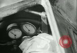 Image of Byron Connett in small submarine Michigan City Indiana USA, 1938, second 11 stock footage video 65675022389