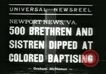 Image of Bishop C M Grace Newport News Virginia USA, 1938, second 6 stock footage video 65675022390