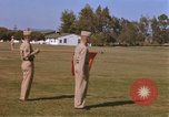 Image of Major General Kyle and General Sawyer Camp Pendleton California USA, 1967, second 3 stock footage video 65675022397