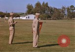 Image of Major General Kyle and General Sawyer Camp Pendleton California USA, 1967, second 4 stock footage video 65675022397