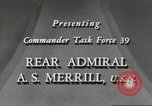 Image of Rear Admiral A S Merrill United States USA, 1943, second 10 stock footage video 65675022406