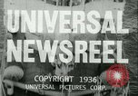 Image of Horse named Pompoon New York United States USA, 1936, second 1 stock footage video 65675022412
