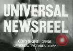 Image of Horse named Pompoon New York United States USA, 1936, second 8 stock footage video 65675022412