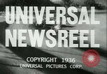 Image of Horse named Pompoon New York United States USA, 1936, second 10 stock footage video 65675022412