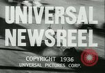 Image of Horse named Pompoon New York United States USA, 1936, second 11 stock footage video 65675022412