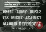 Image of Workers Militiamen and rebel army Madrid Spain, 1936, second 1 stock footage video 65675022413