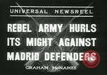 Image of Workers Militiamen and rebel army Madrid Spain, 1936, second 3 stock footage video 65675022413