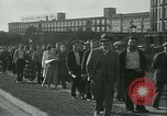 Image of Pickets clash with police Wyomissing Pennsylvania USA, 1936, second 12 stock footage video 65675022415