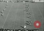 Image of Notre Dame versus Carnegie Tech football South Bend Indiana USA, 1936, second 8 stock footage video 65675022420