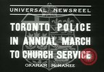 Image of Toronto Police Pipe Band Toronto Ontario Canada, 1936, second 7 stock footage video 65675022421