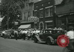 Image of Fon Du Lac Bank pays depositors East Peoria Illinois USA, 1934, second 3 stock footage video 65675022427