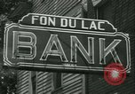 Image of Fon Du Lac Bank pays depositors East Peoria Illinois USA, 1934, second 7 stock footage video 65675022427