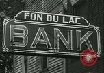 Image of Fon Du Lac Bank pays depositors East Peoria Illinois USA, 1934, second 9 stock footage video 65675022427
