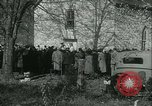 Image of Blessing of the hounds opens Fall Fox Hunt Lexington Kentucky, 1934, second 12 stock footage video 65675022434