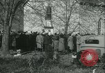 Image of Blessing of the hounds opens Fall Fox Hunt Lexington Kentucky, 1934, second 13 stock footage video 65675022434