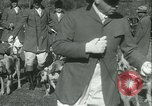 Image of Blessing of the hounds opens Fall Fox Hunt Lexington Kentucky, 1934, second 15 stock footage video 65675022434