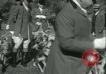 Image of Blessing of the hounds opens Fall Fox Hunt Lexington Kentucky, 1934, second 16 stock footage video 65675022434