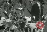 Image of Blessing of the hounds opens Fall Fox Hunt Lexington Kentucky, 1934, second 18 stock footage video 65675022434