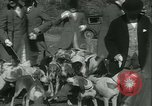 Image of Blessing of the hounds opens Fall Fox Hunt Lexington Kentucky, 1934, second 19 stock footage video 65675022434