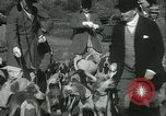 Image of Blessing of the hounds opens Fall Fox Hunt Lexington Kentucky, 1934, second 20 stock footage video 65675022434