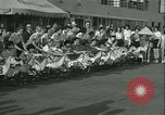 Image of mechanical hobby-horse race Santa Monica California USA, 1934, second 8 stock footage video 65675022442
