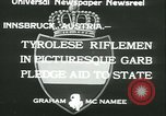 Image of Tyrolese riflemen Innsbruck Austria, 1933, second 3 stock footage video 65675022447