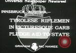 Image of Tyrolese riflemen Innsbruck Austria, 1933, second 10 stock footage video 65675022447