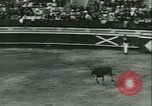 Image of bullfight Mont-De-Marsan France, 1933, second 12 stock footage video 65675022452